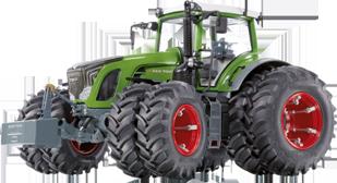 MEGA Třeboň s.r.o. - Fend traktor